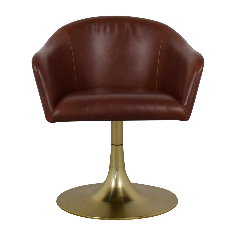 stunning west elm office chair | 62% OFF - West Elm West Elm Bond Swivel Office Chair ...