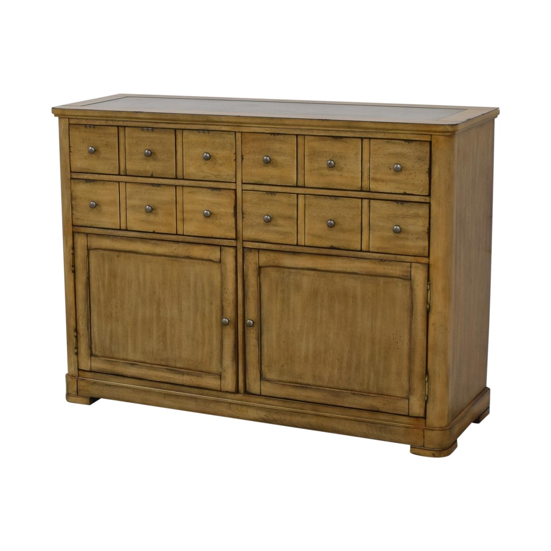 buy Raymour & Flanigan Four-Drawer Side Cabinet Buffet Raymour & Flanigan Storage