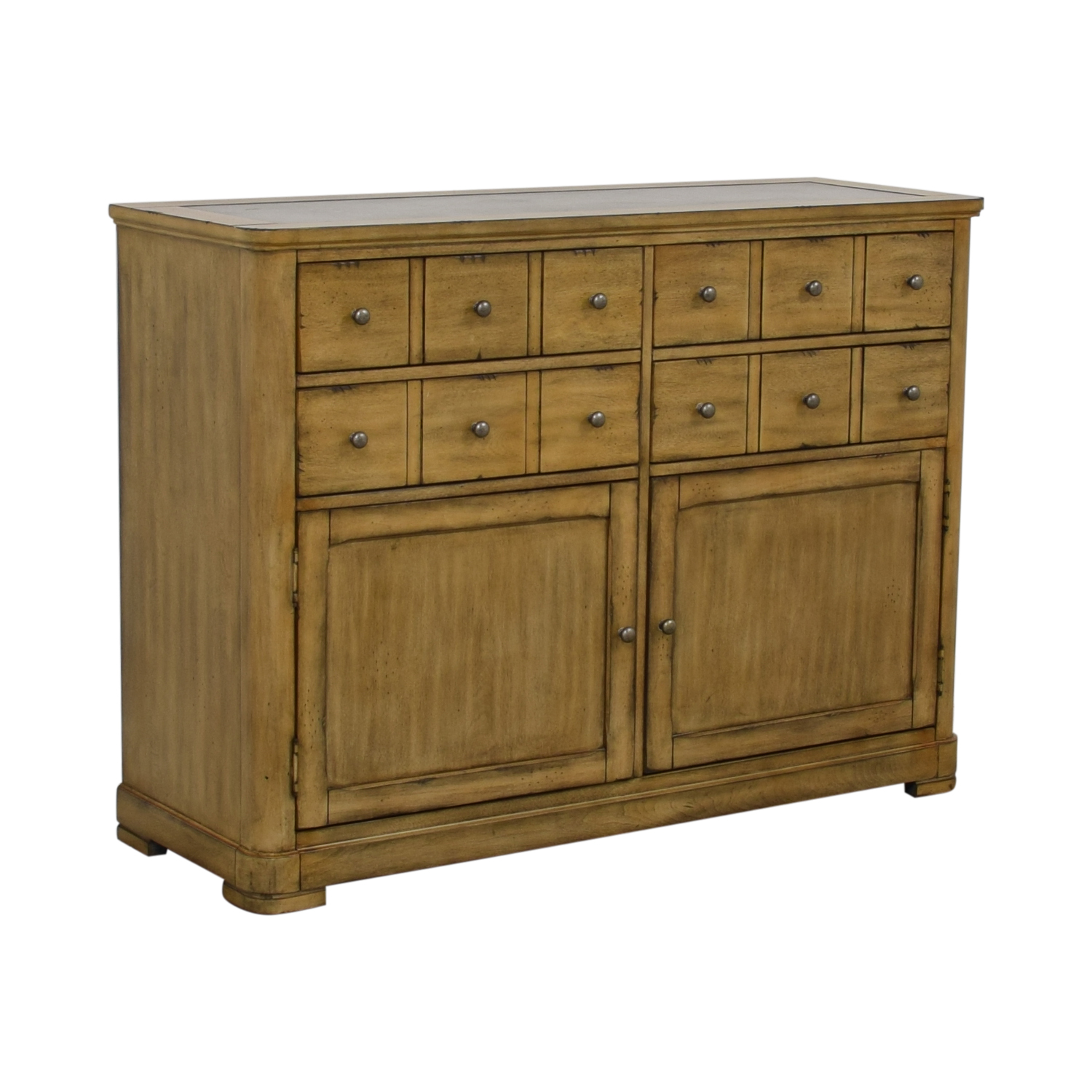 Raymour & Flanigan Raymour & Flanigan Four-Drawer Side Cabinet Buffet second hand
