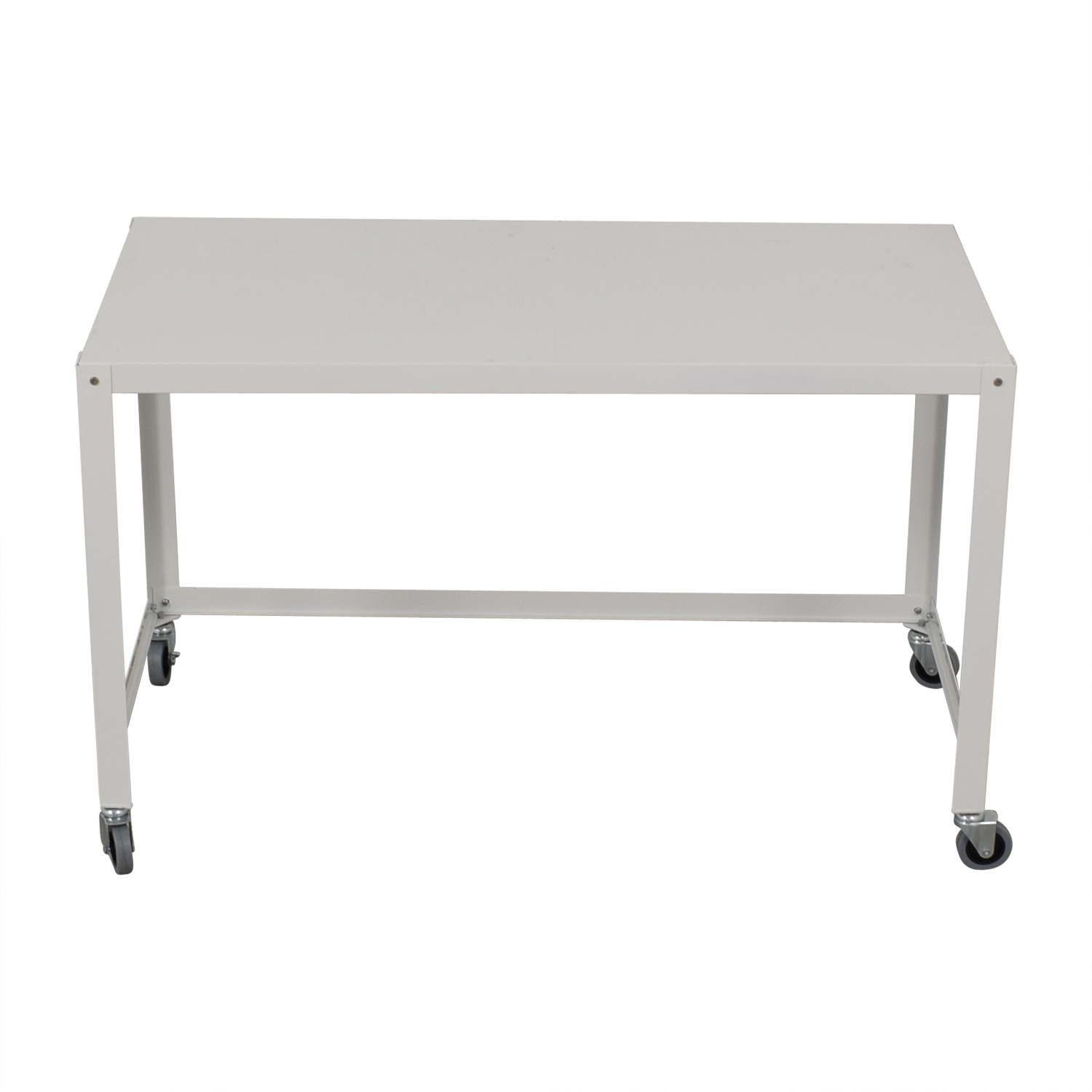 CB2 CB2 Go-Cart White Rolling Desk discount