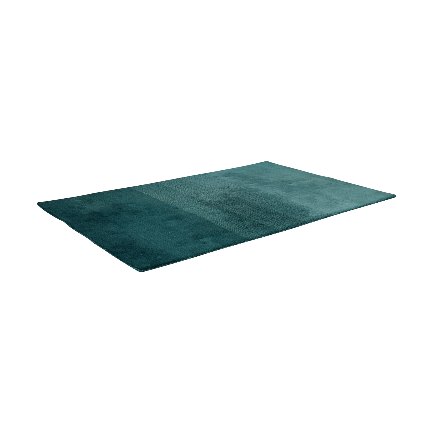 CB2 CB2 Ombre Teal Rug coupon