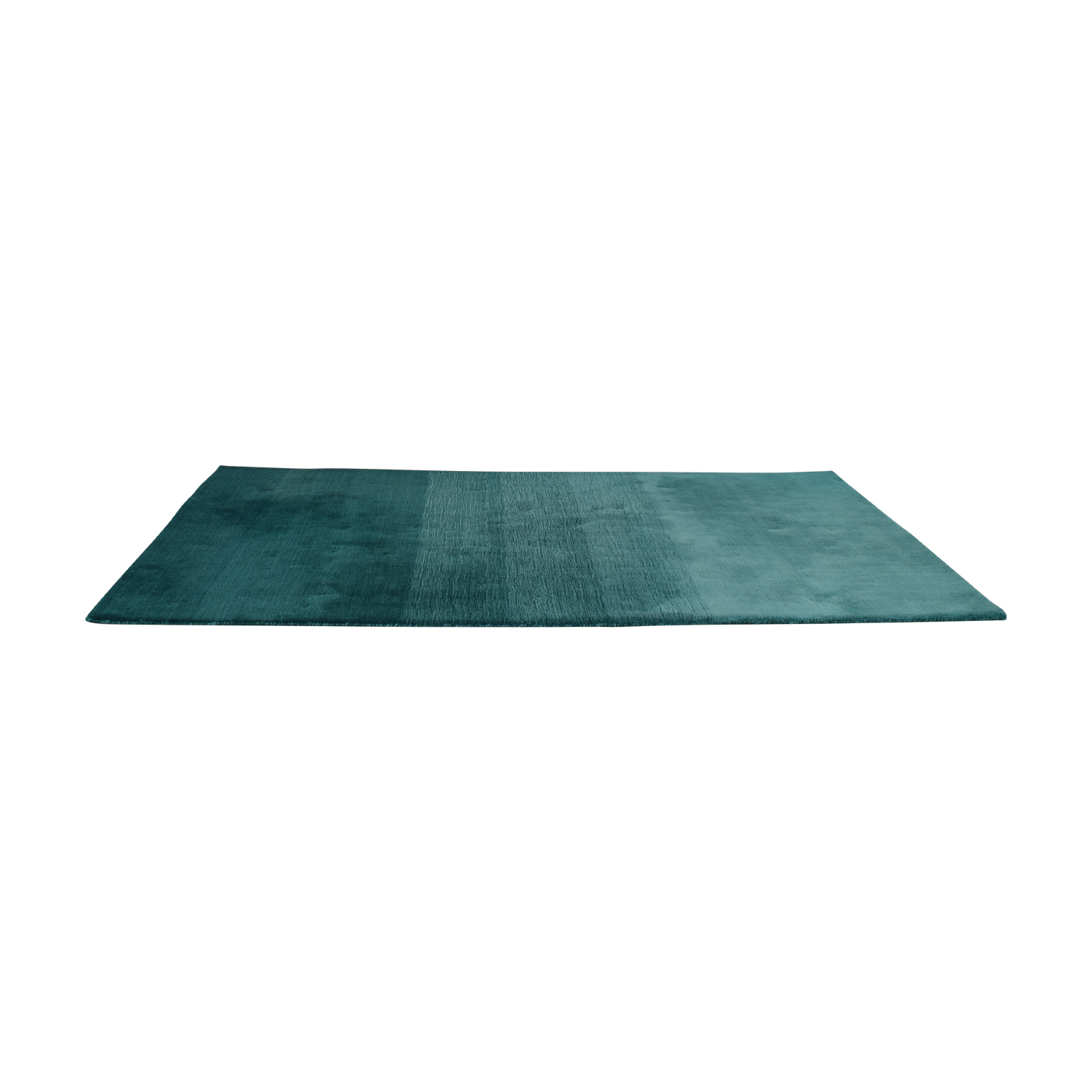 CB2 CB2 Ombre Teal Rug Decor