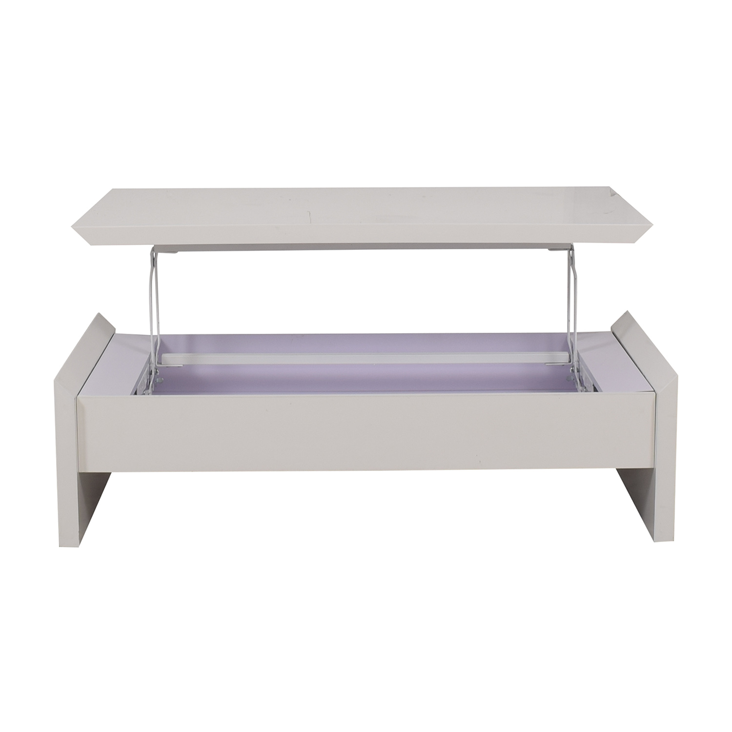Safavieh Safavieh White Coffee Table with Lift Top Storage for sale