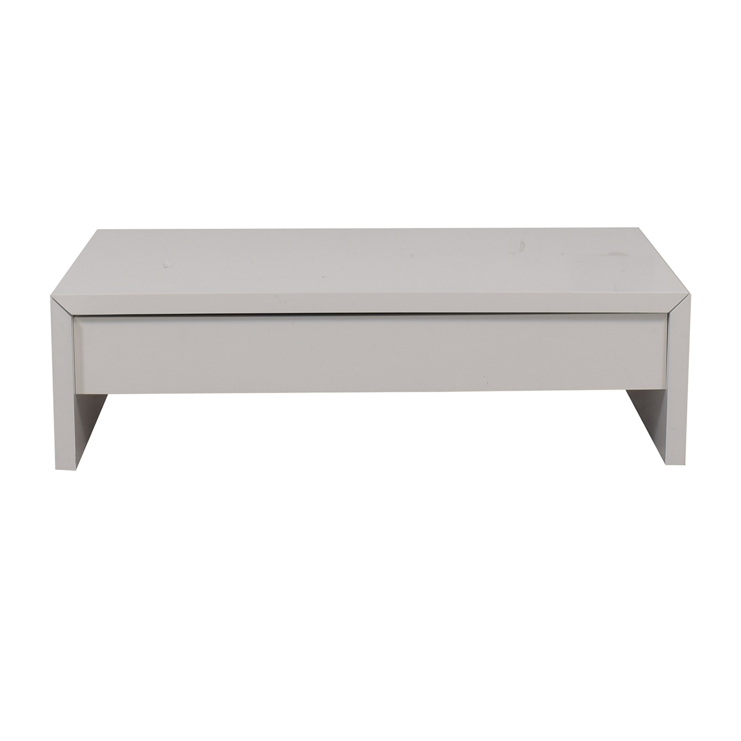 shop Safavieh Safavieh White Coffee Table with Lift Top Storage online