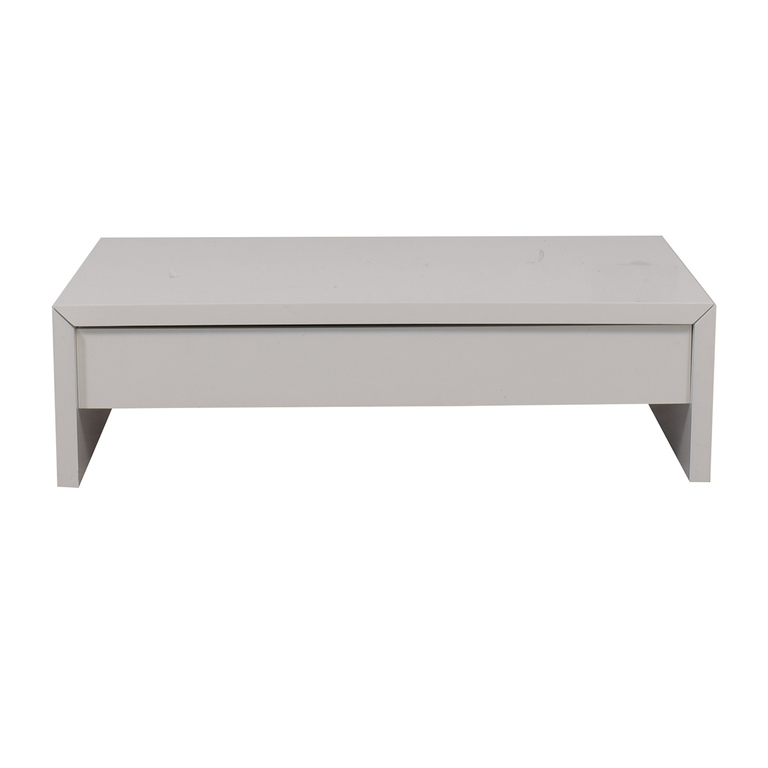 Safavieh Safavieh White Coffee Table with Lift Top Storage used