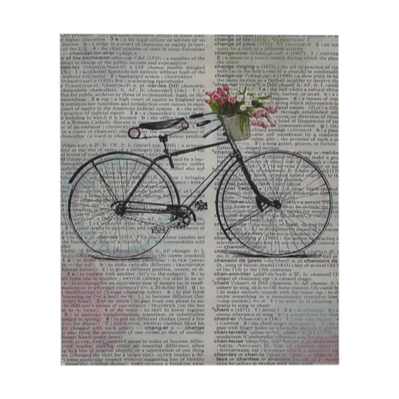 Bike Over Words Print price
