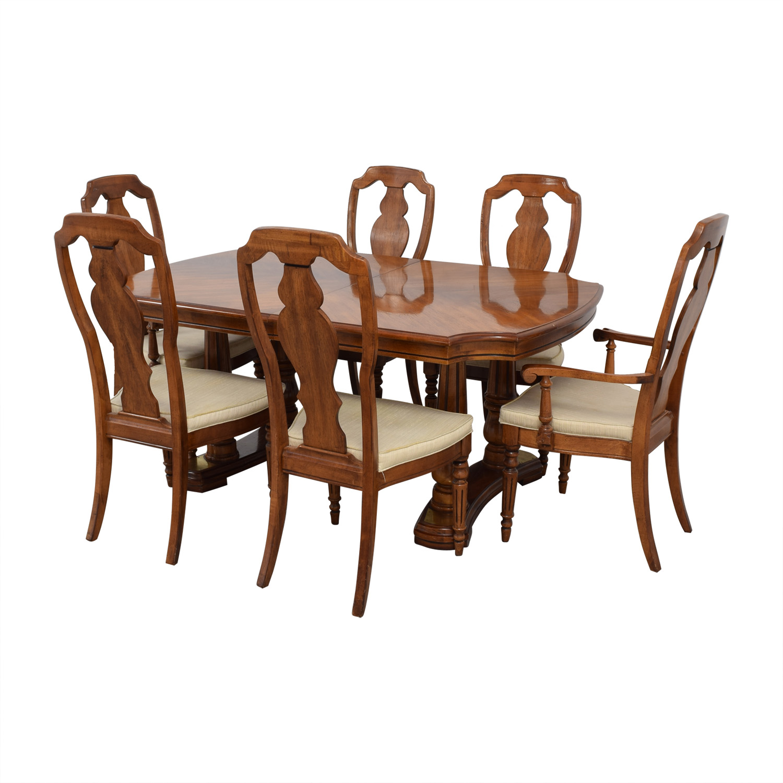 shop Extendable Wood Dining Set
