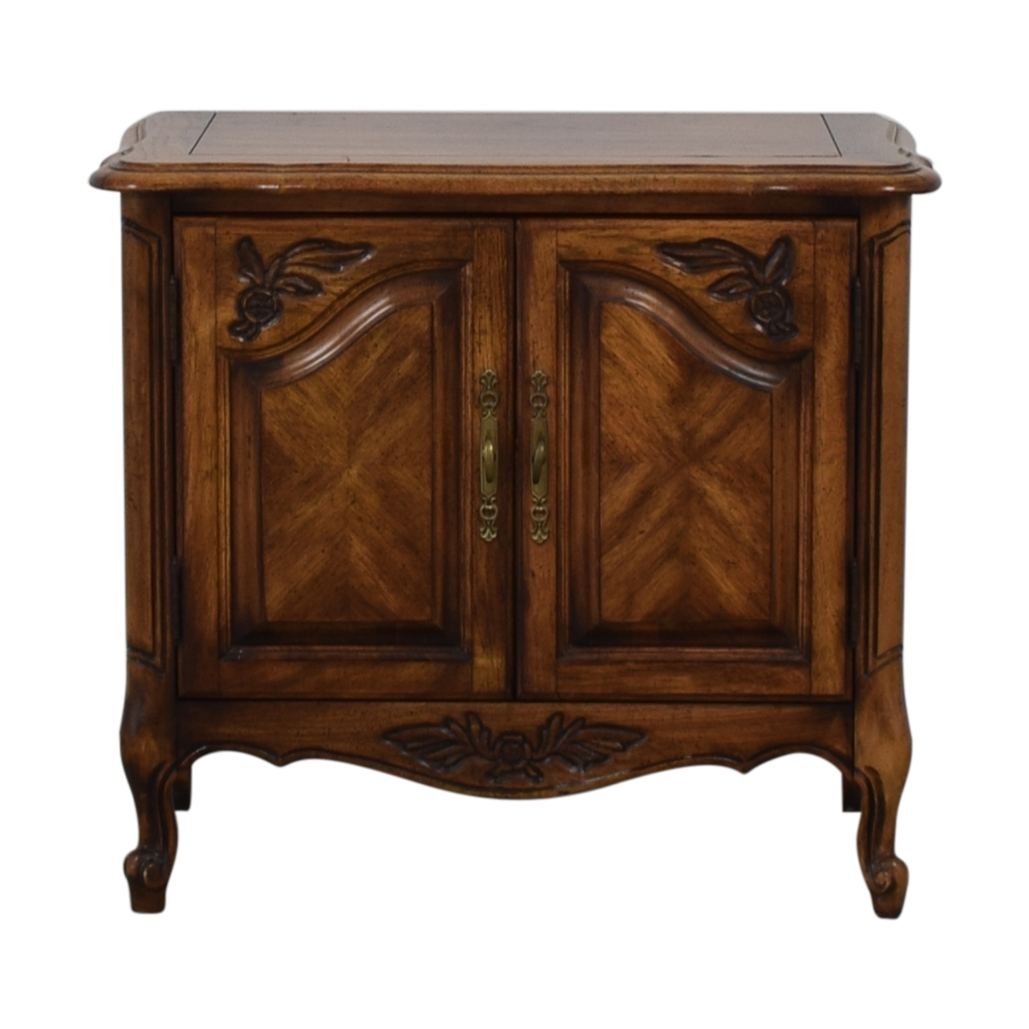 shop Single Drawer Wood End Table
