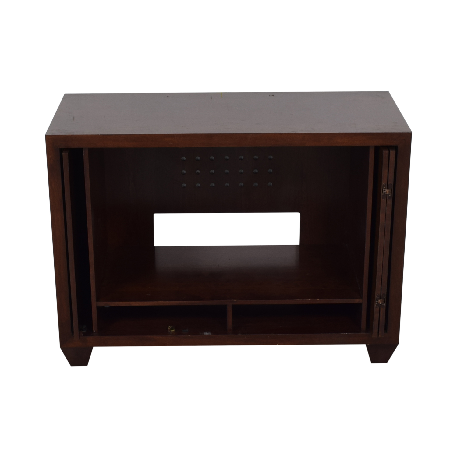 Custom Cherry Media Cabinet / Cabinets & Sideboards