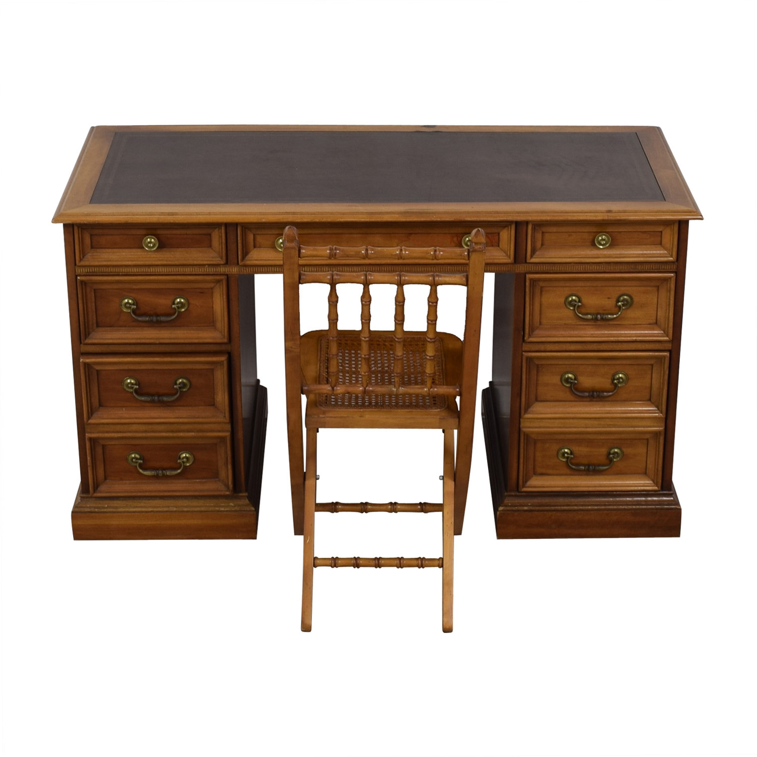 Vintage Writing Desk with Chair used