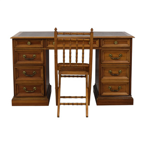 Vintage Writing Desk with Chair coupon