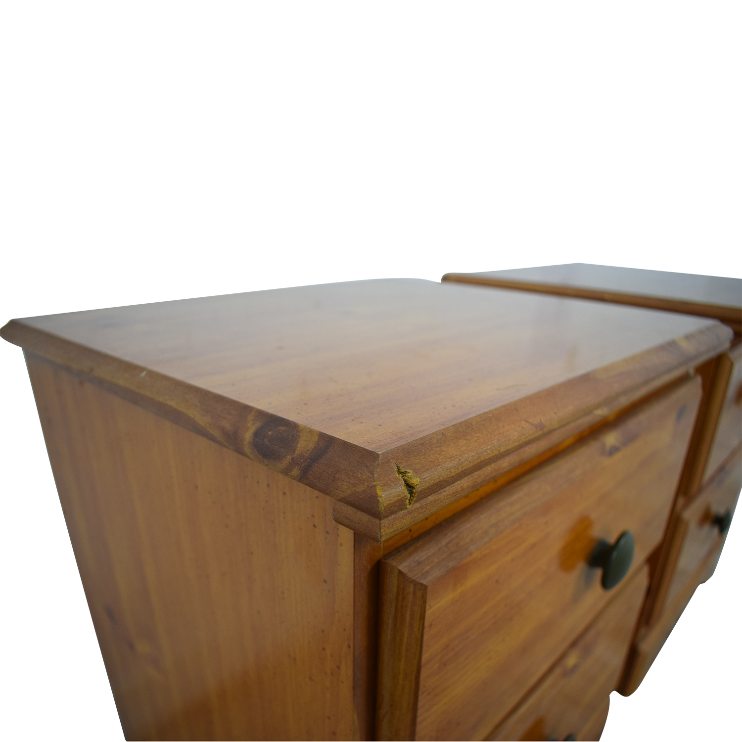 buy Chestnut Two-Drawer Night Stands  Tables