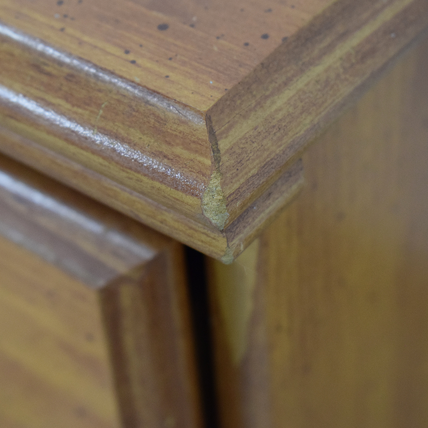 Chestnut Two-Drawer Night Stands