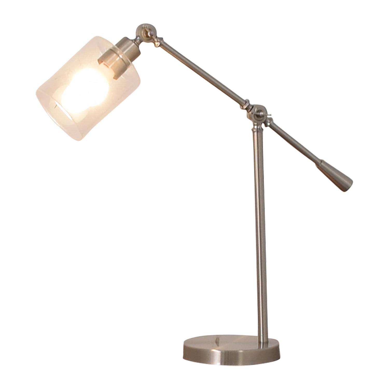 Wayfair Wayfair Smoky Desk Lamp dimensions