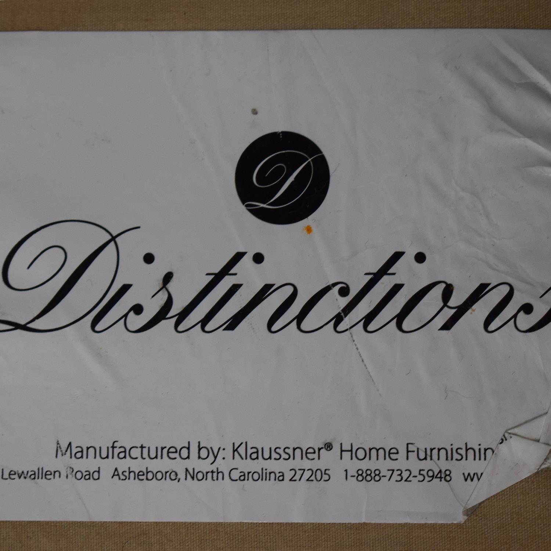 buy Klaussner Furniture Distinctions Beige Two-Cushion Sofa Klaussner Furniture Sofas