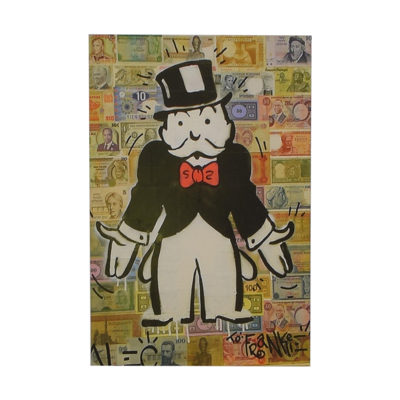 bd9eb96b861 76% OFF - Alec Monopoly Artwork   Decor