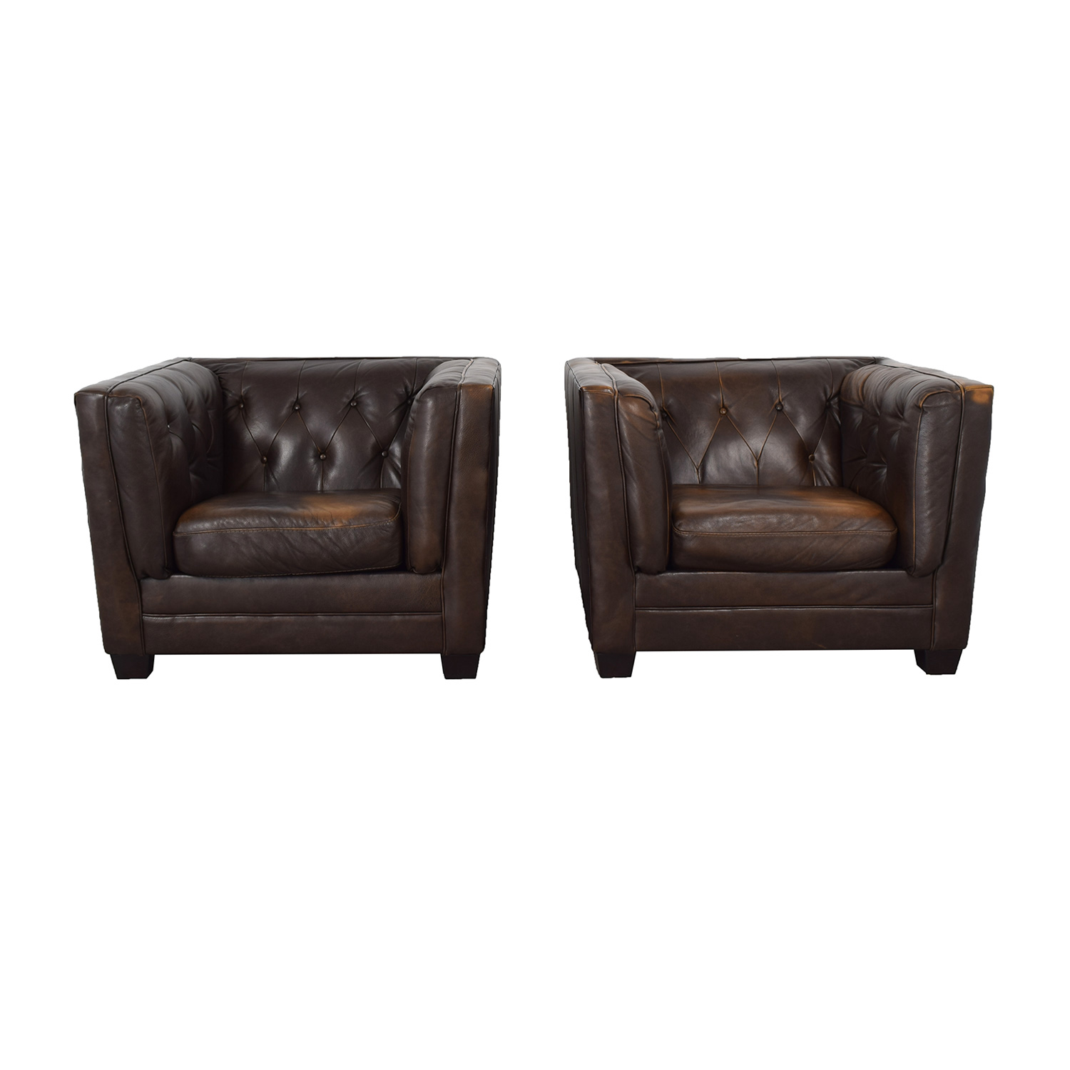 69 Off Ashley Furniture Ashley Furniture Tufted Accent Chairs Chairs