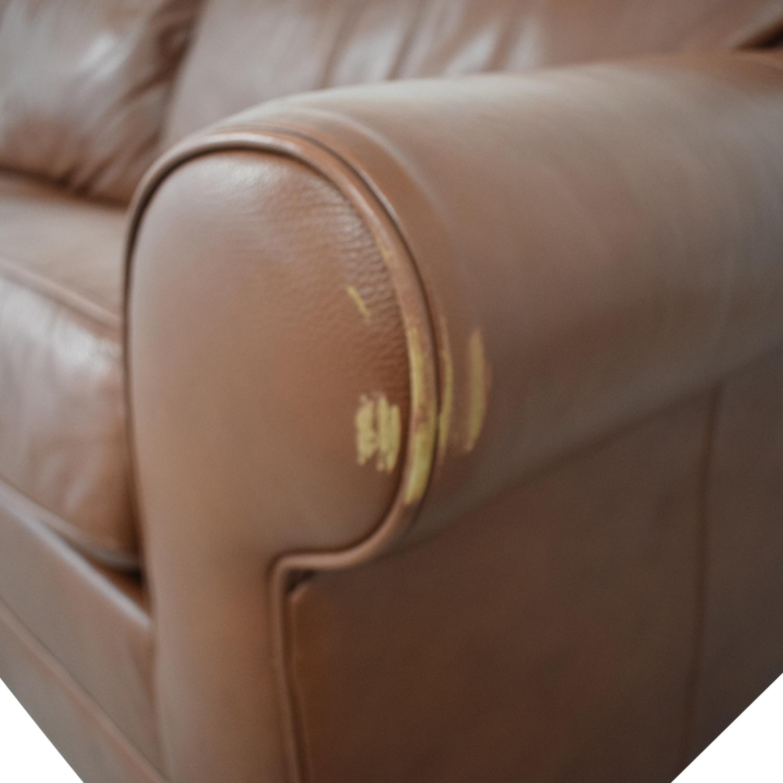 Ethan Allen Ethan Allen Bennett Roll-Arm Queen Sleeper Sofa nyc