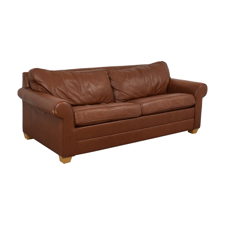 Ethan Allen Ethan Allen Bennett Roll-Arm Queen Sleeper Sofa second hand
