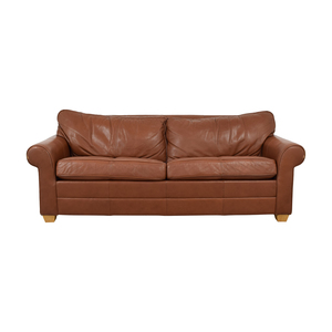 Ethan Allen Ethan Allen Bennett Roll-Arm Full Sleeper Sofa second hand