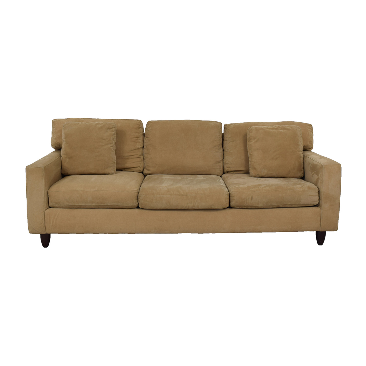 Max Home Max Home Tan Sectional Sofa for sale
