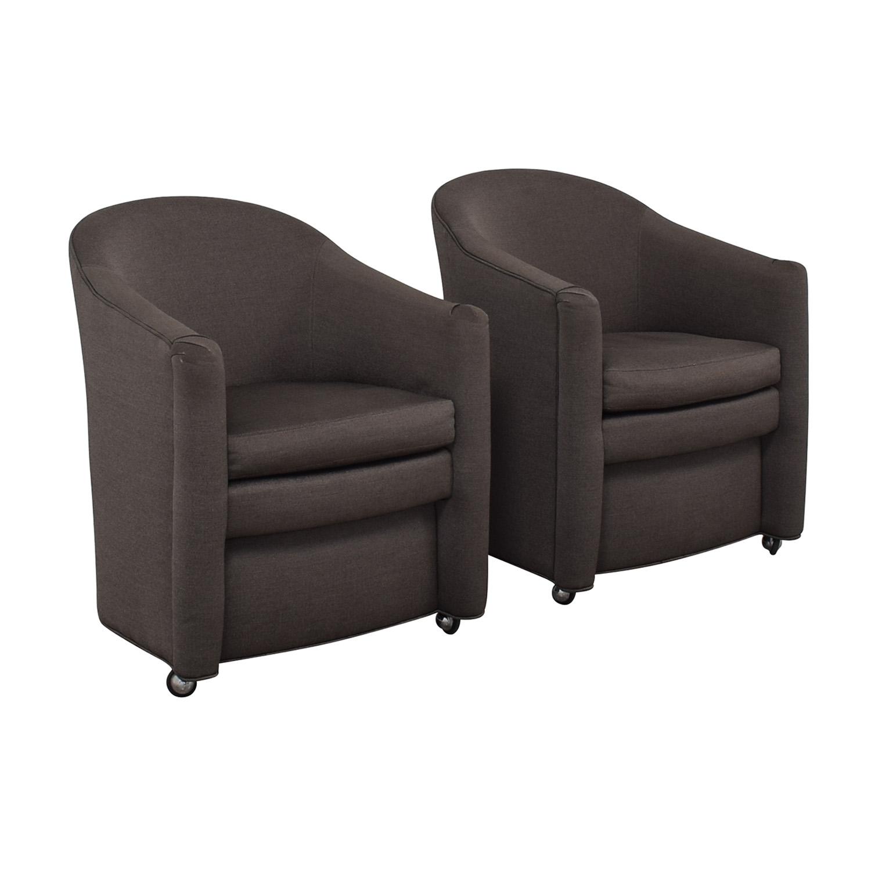 shop Kravet Kravet Grey Wianno Accent Chairs online