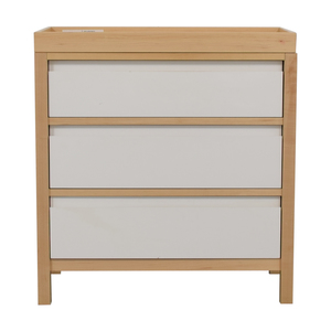 Land of Nod Dresser with Changing Table Top sale