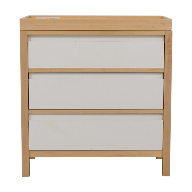 shop Land of Nod Dresser with Changing Table Top Land of Nod
