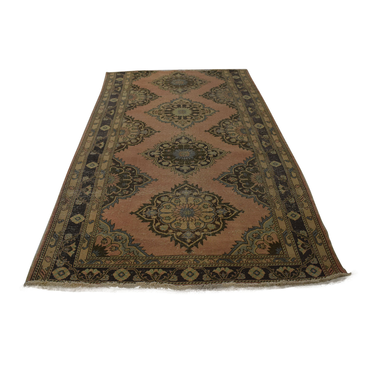 shop  Vintage Turkish Multi-Colored Wool Rug online