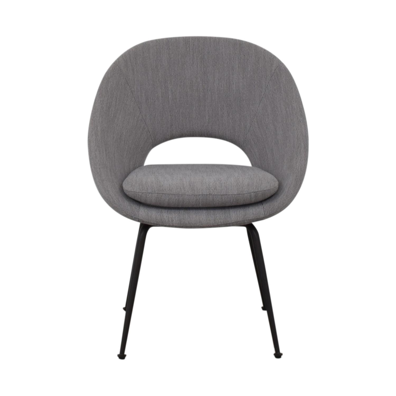 buy West Elm Gray Accent Chair West Elm