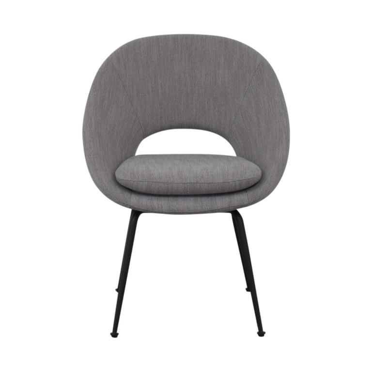 West Elm West Elm Gray Accent Chair coupon