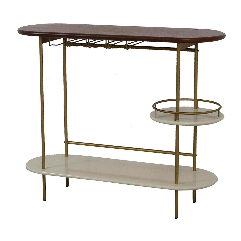 shop West Elm Tiered Bar Console West Elm Tables