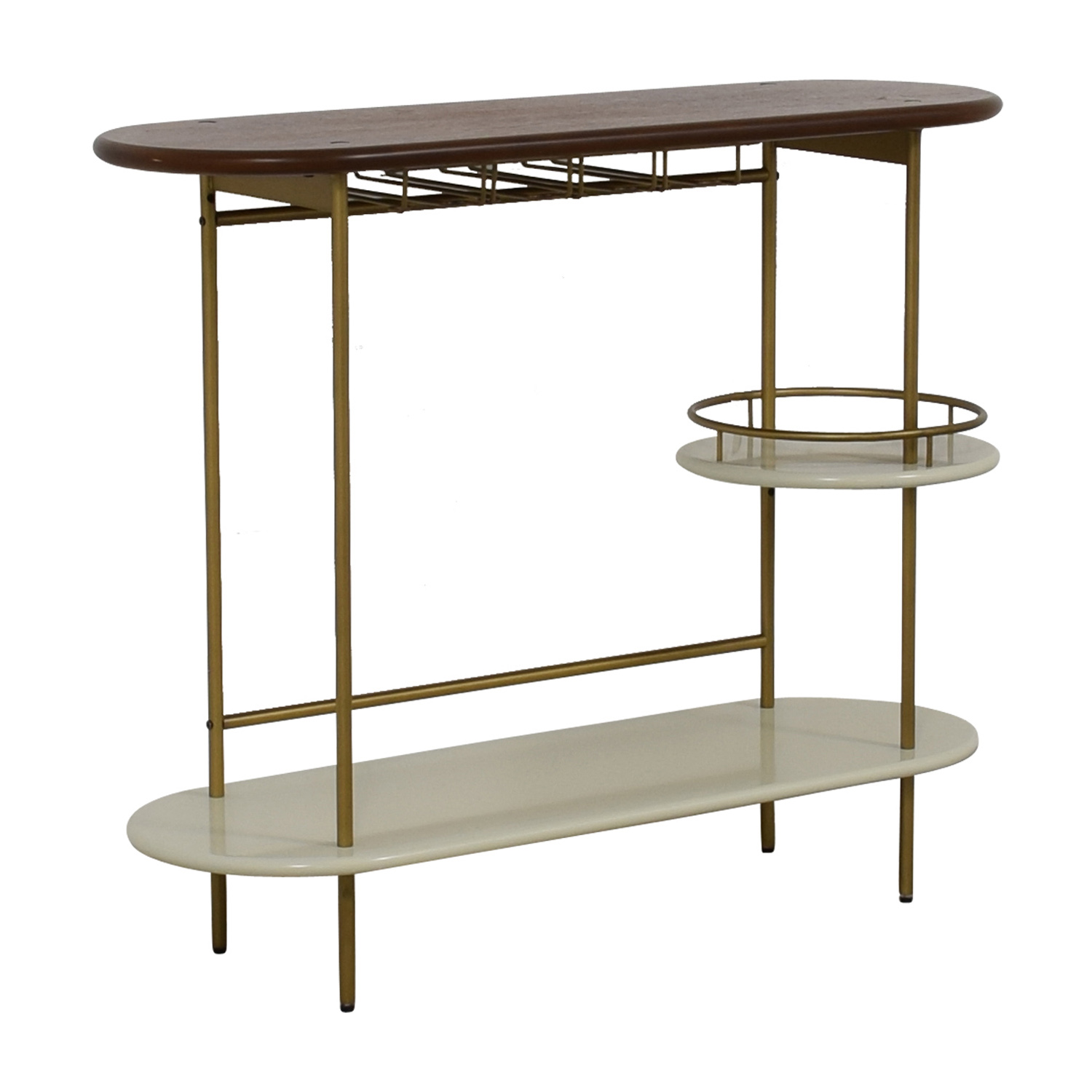 West Elm West Elm Tiered Bar Console Tables