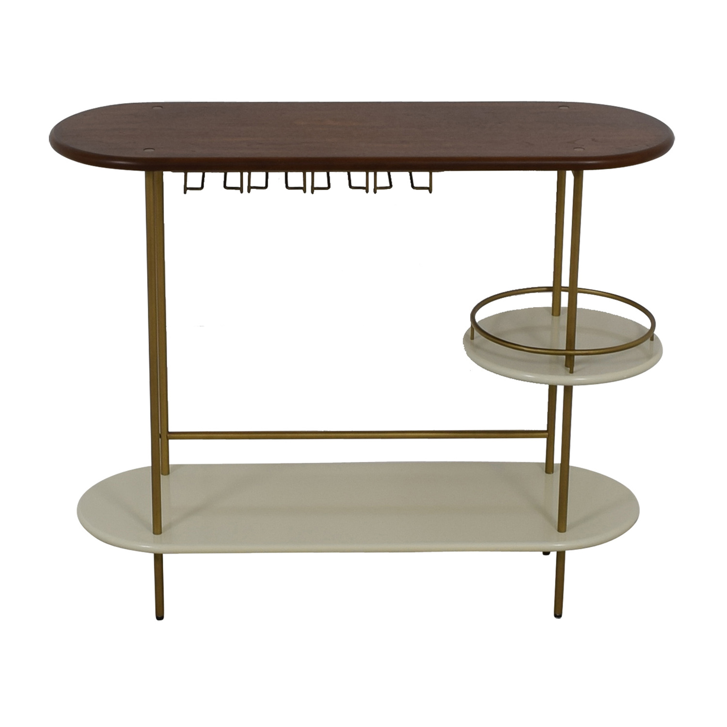 buy West Elm Tiered Bar Console West Elm Utility Tables