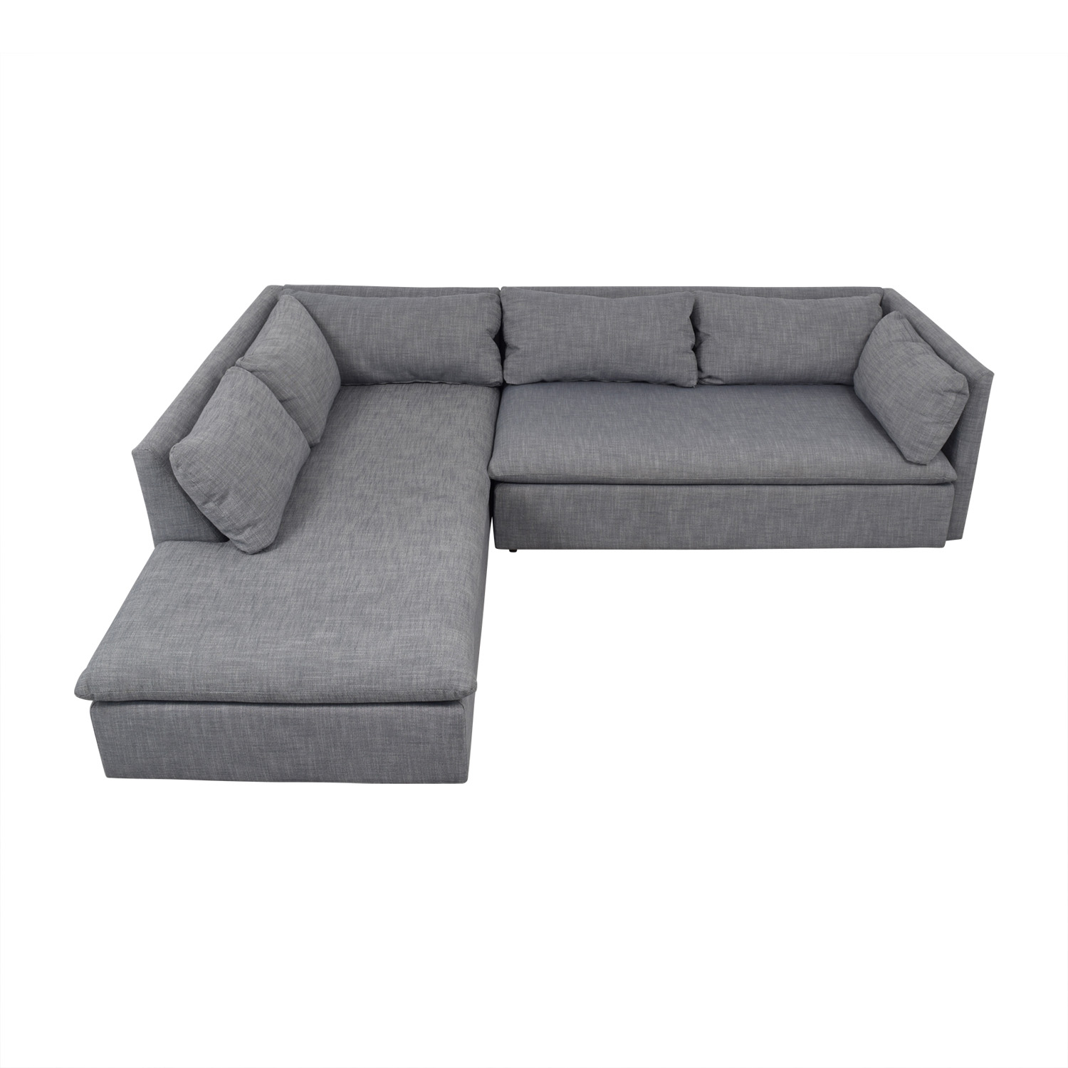 West Elm West Elm Shelter Sectional for sale