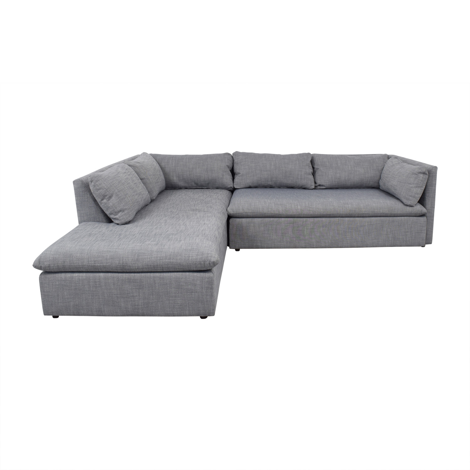 West Elm West Elm Shelter Sectional discount