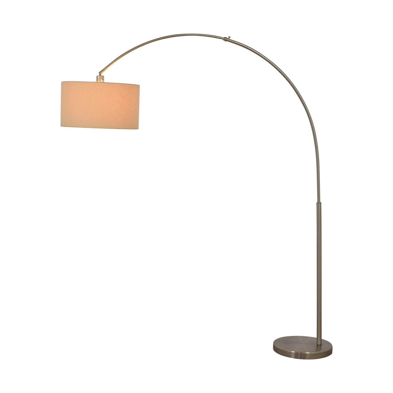 CB2 CB2 Big Dipper Arc Brushed Nickel Floor Lamp