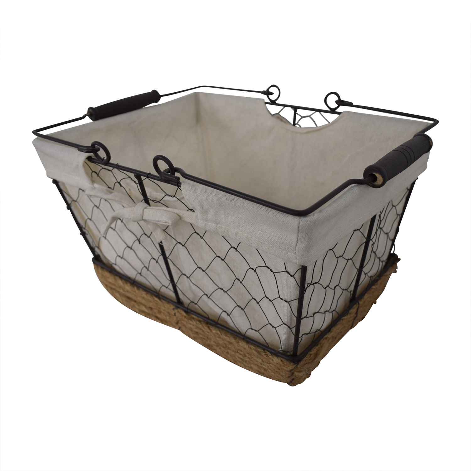 shop Home Styles Two-Drawer Utility Cart with Steel Top and Five Wire Baskets Home Styles Utility Tables
