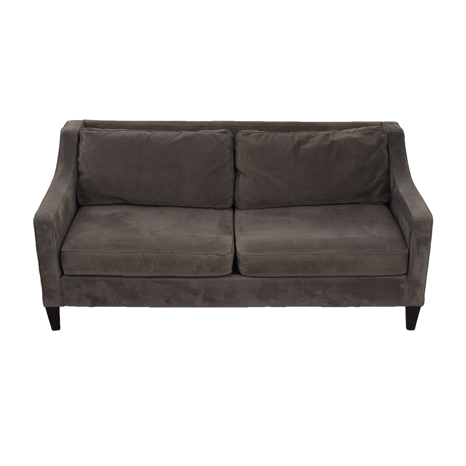 West Elm Paidge Grey Sofa West Elm