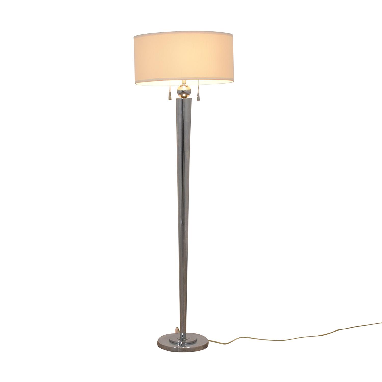 Chrome Floor Lamp / Lamps
