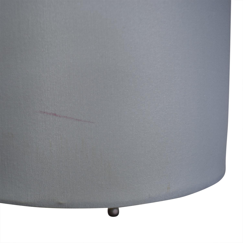 Chrome Metal Table Lamp nj
