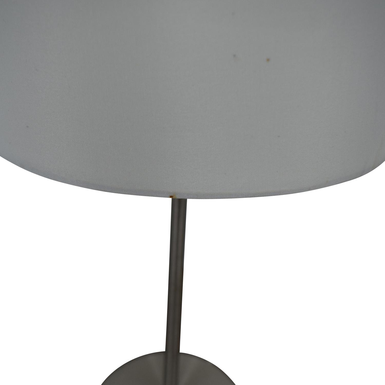 Chrome Metal Table Lamp coupon