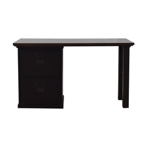 Pottery Barn Pottery Barn Two Drawer Desk discount