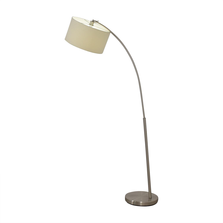 CB2 CB2 Chrome Floor Lamp for sale