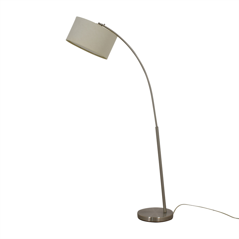 buy CB2 Chrome Floor Lamp CB2