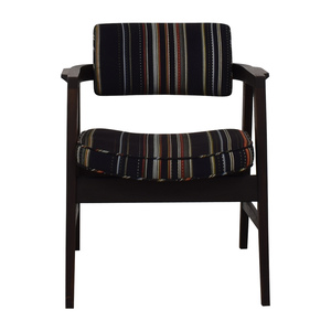 Paul Smith Paul Smith Blue Striped Accent Chair