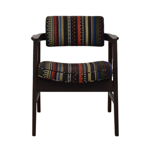 Paul Smith Paul Smith Multi-Color Striped Accent Chair second hand