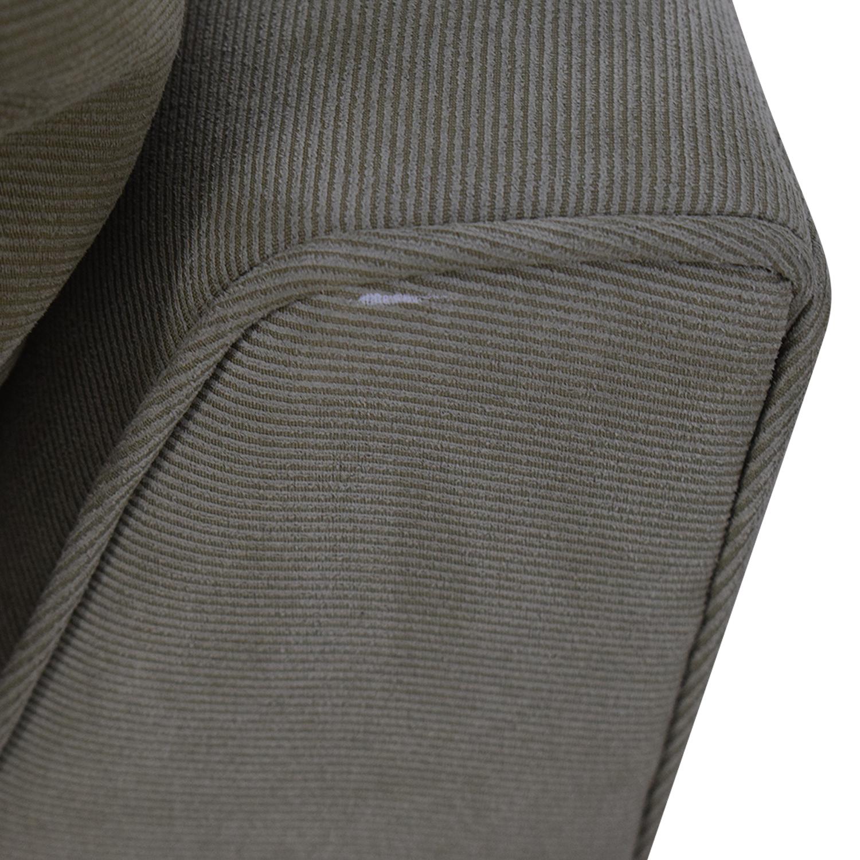 buy Macy's Macy's Beige Right Facing Arm Two-Piece Sofa online