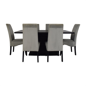 Coaster Fine Furniture Coaster Furniture Stanton Gray Dining Room Set second hand