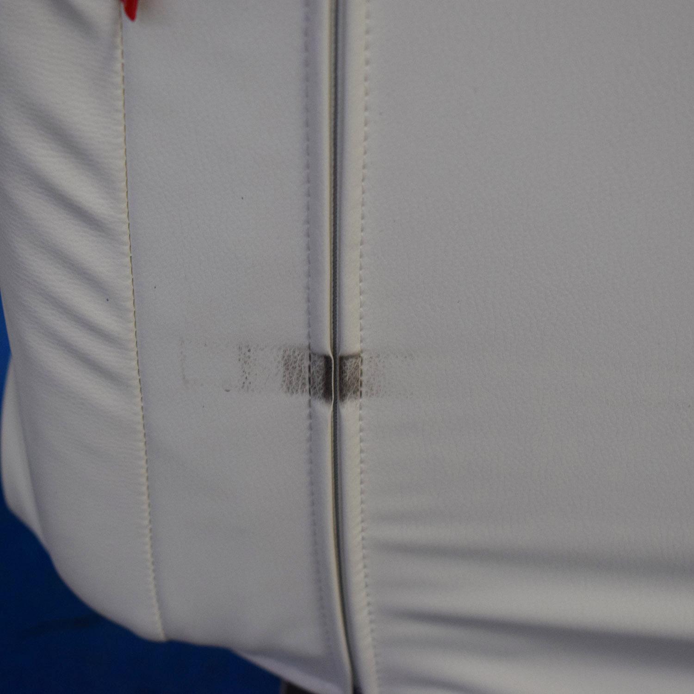 Innovation Living Innovation White Splitback Stainless Steel Convertible Sofa coupon